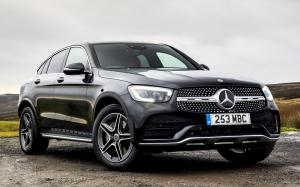 Mercedes-Benz GLC300 4Matic AMG Line Coupe 2019 года (UK)